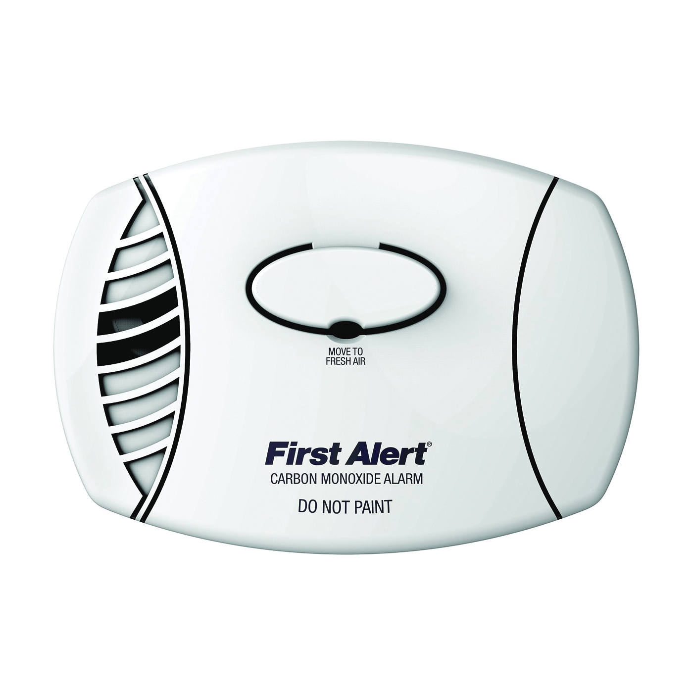 Picture of FIRST ALERT CO400B Single Gas Detector, 85 dB, Alarm: Audible/Visual, Electrochemical Sensor, White