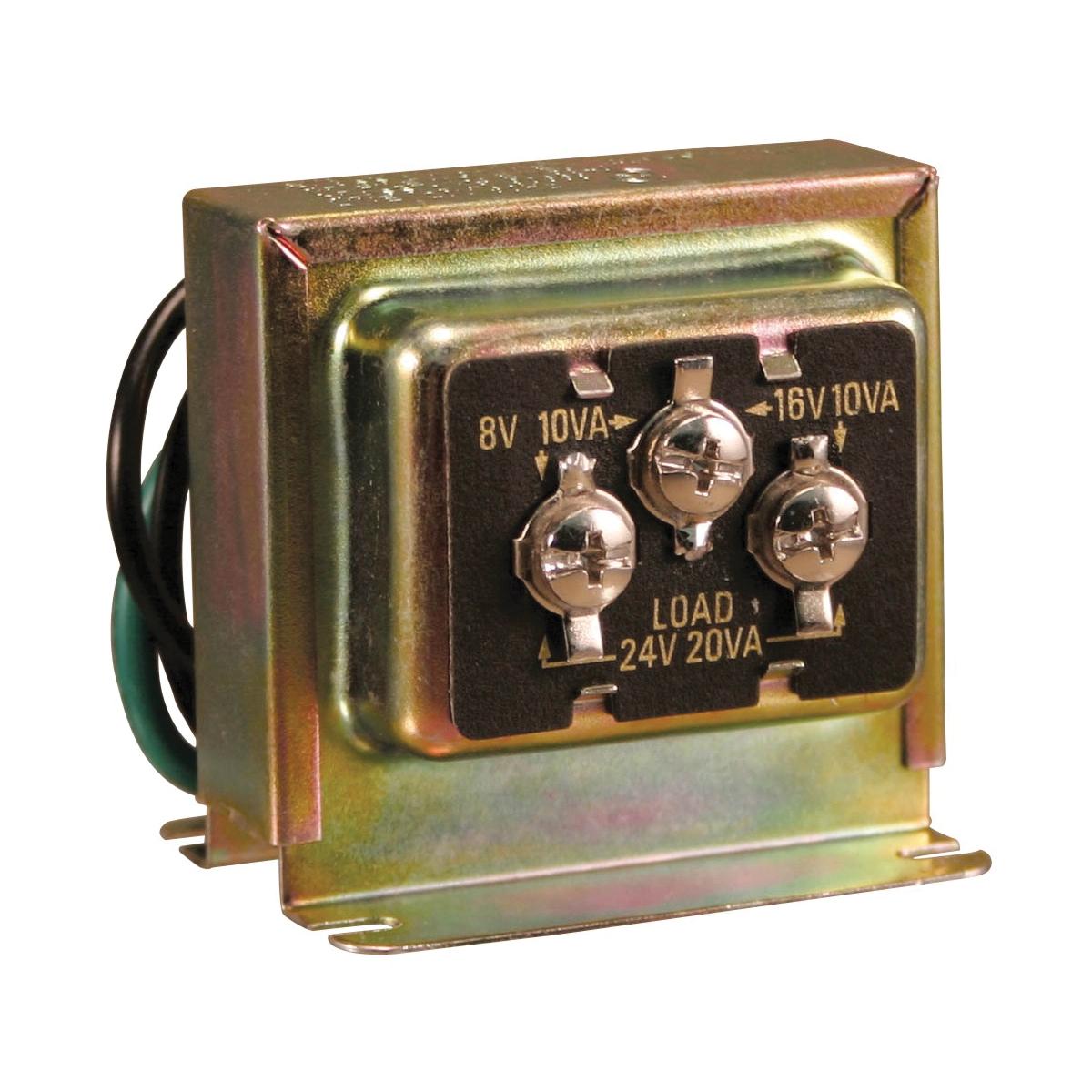 Picture of Heath Zenith SL-125-02 Doorbell Transformer, 10 to 20 VA