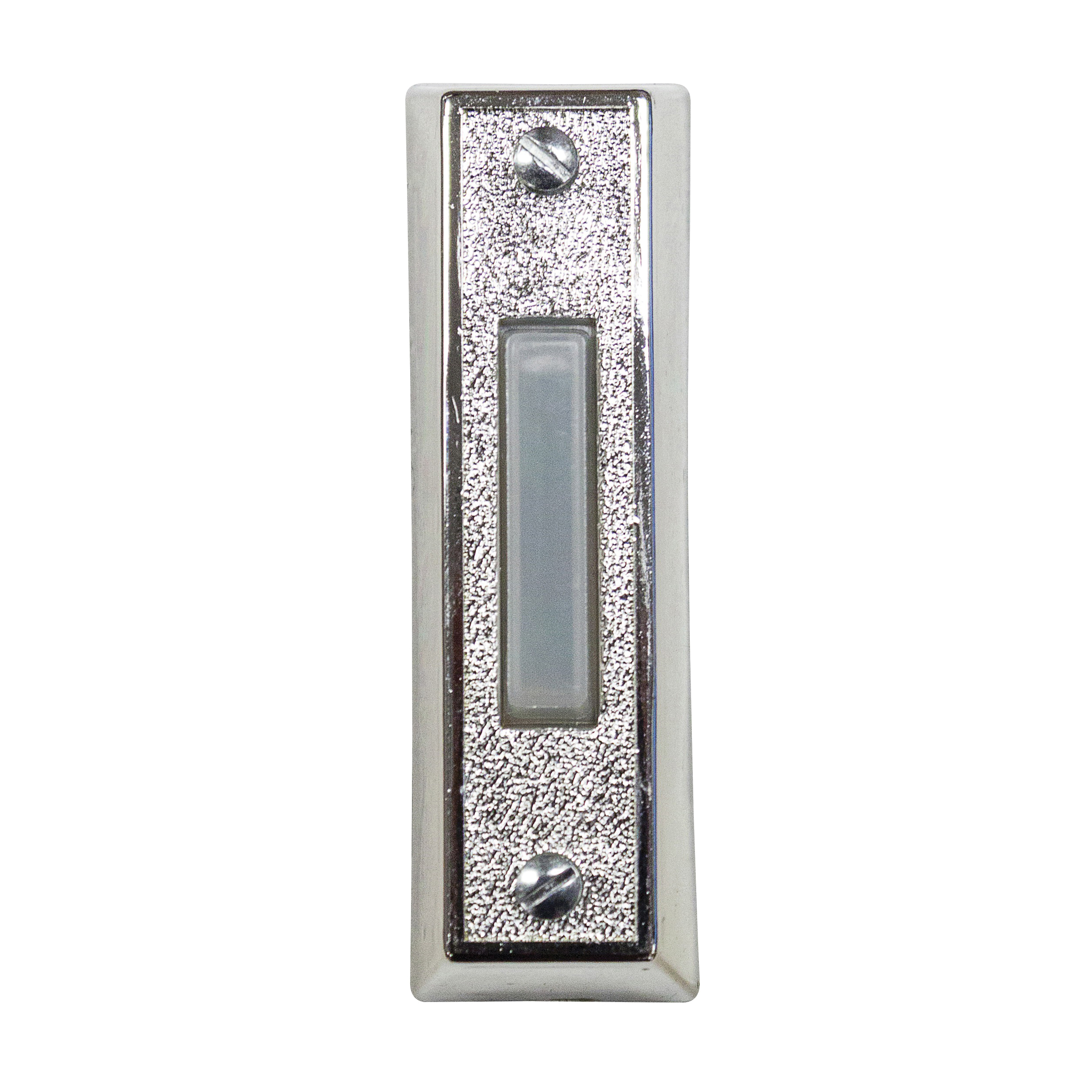 Picture of Heath Zenith SL-358-00 Pushbutton, Wired, Plastic, Silver, Lighted
