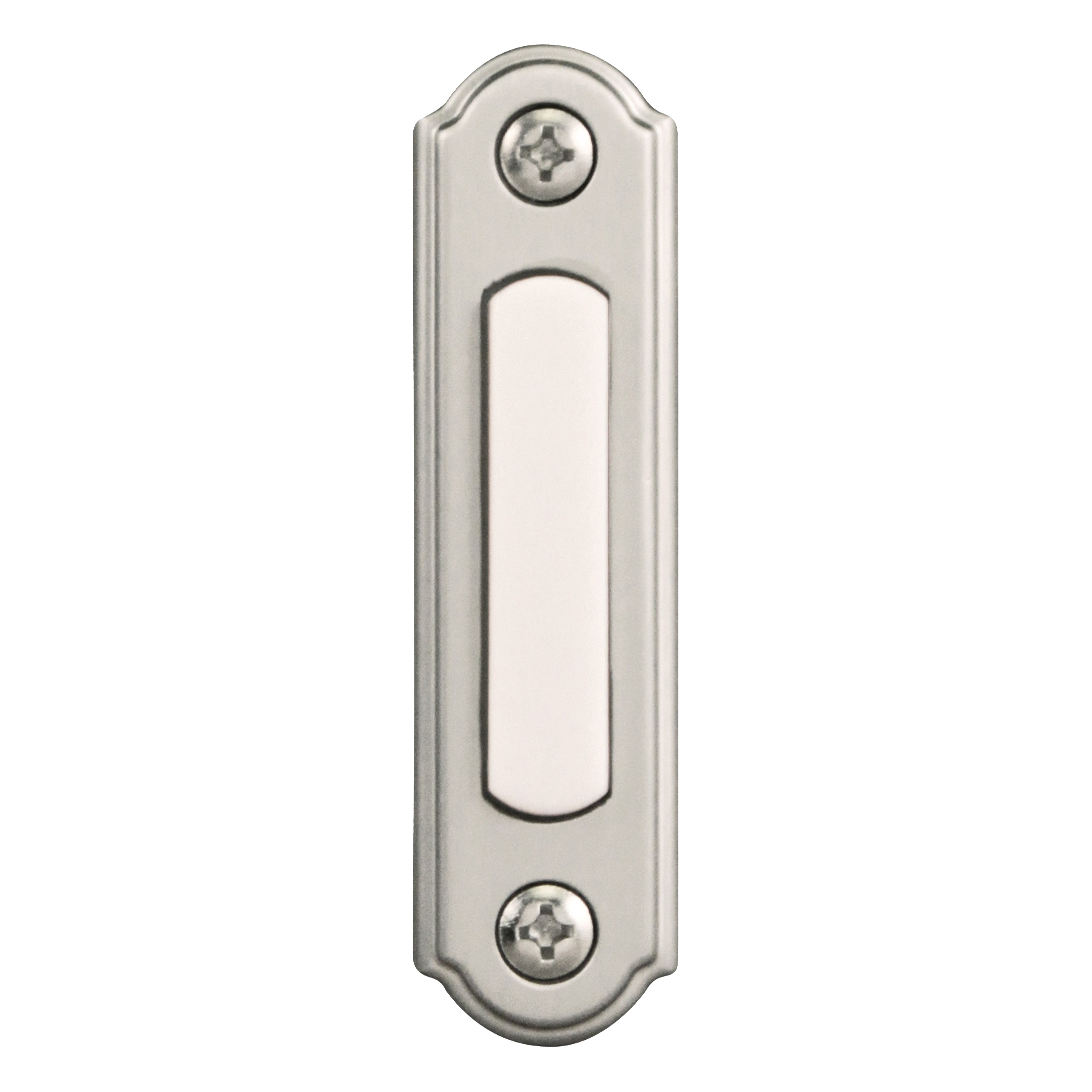 Picture of Heath Zenith SL-556-00 Pushbutton, Wired, Solid Metal, Lighted