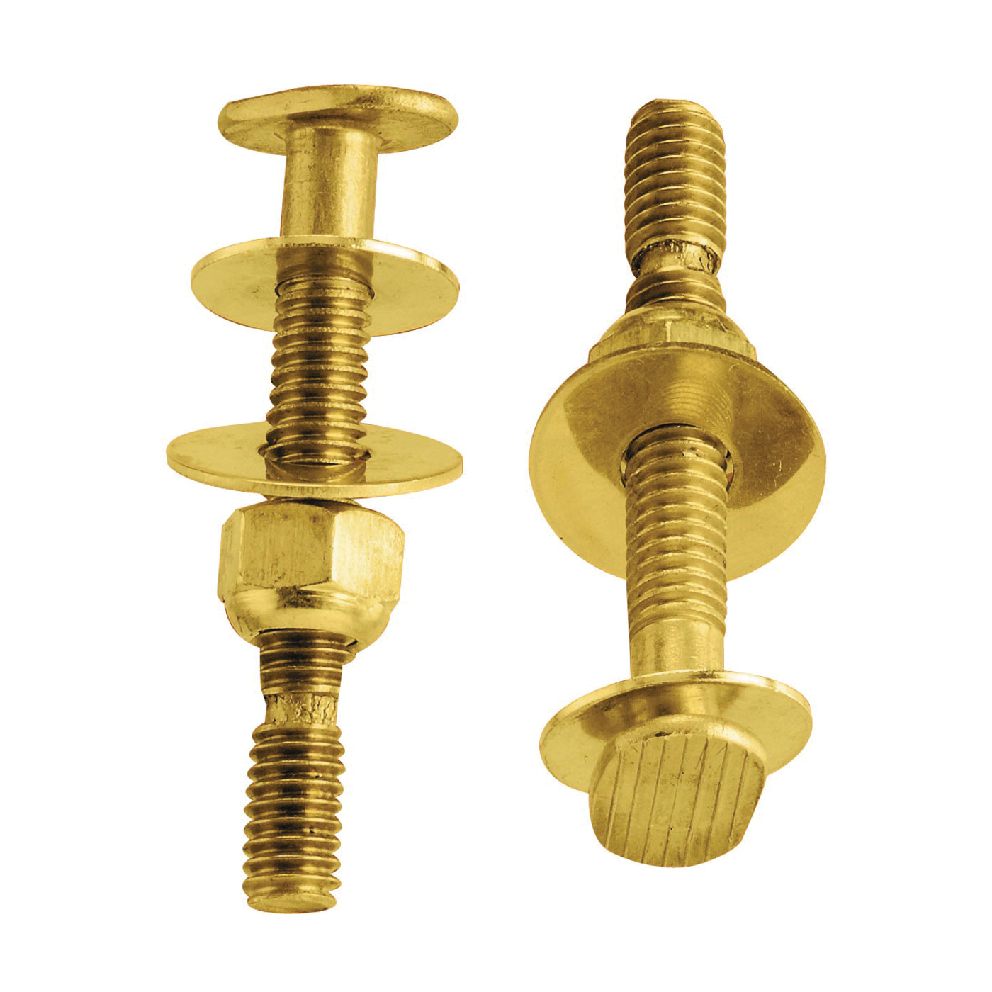 Picture of Plumb Pak PP830-56 Bolt Set, Snap-Off, Brass, Carded