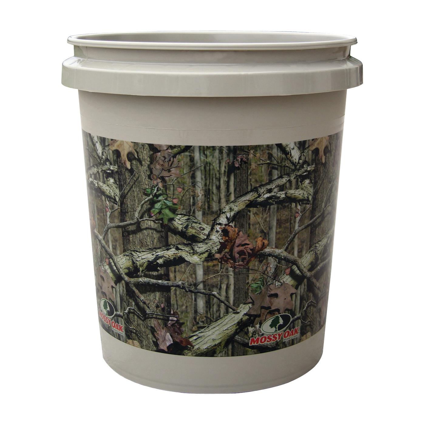 Picture of ENCORE Plastics 350358 Paint Pail, 5 gal Capacity, Plastic, Mossy Oak