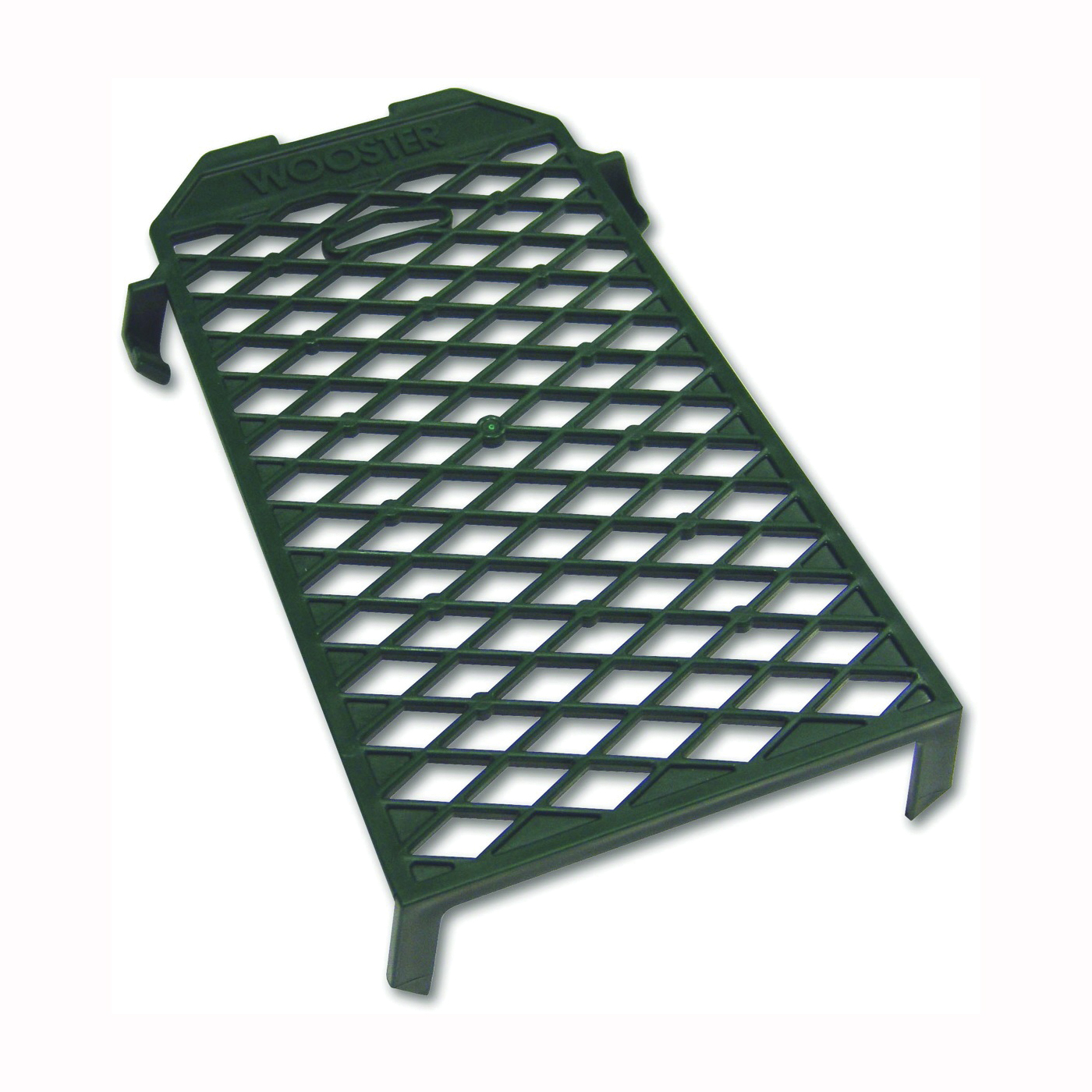 Picture of WOOSTER R008 Paint Grid, 9 in L, 5 in W, Polypropylene, Green, For: 1 gal Metal Paint Can