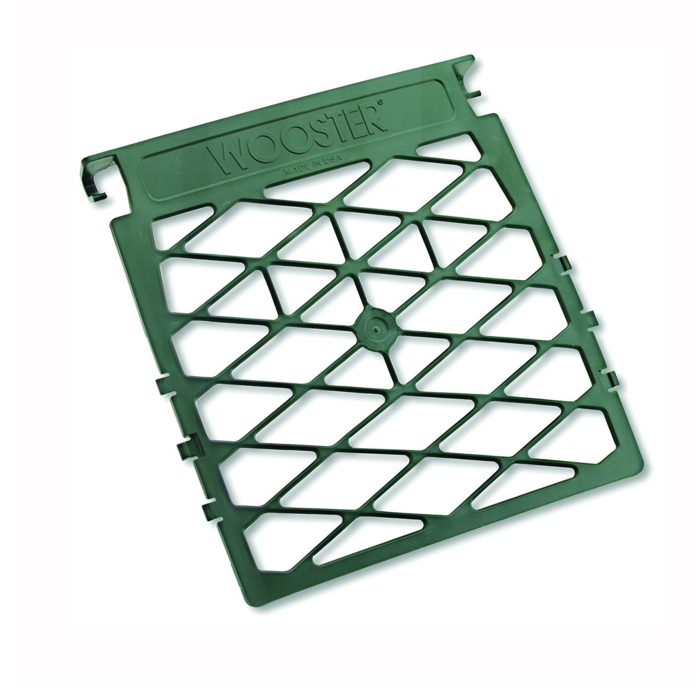 Picture of WOOSTER R007 Paint Grid, 10-1/2 in L, 10-1/2 in W, Polypropylene, Green