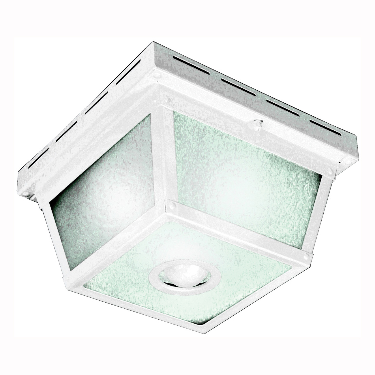 Picture of Heath Zenith HZ-4305-WH Motion Activated Decorative Light, 120 V, 25 W, Incandescent Lamp, Metal Fixture, White