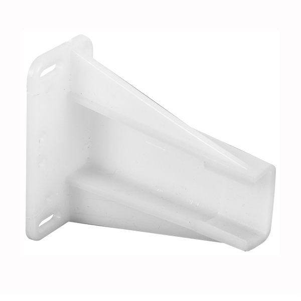 Picture of Prime-Line R7240 Drawer Track Backplate, 2-9/16 in W, Nylon, Raw
