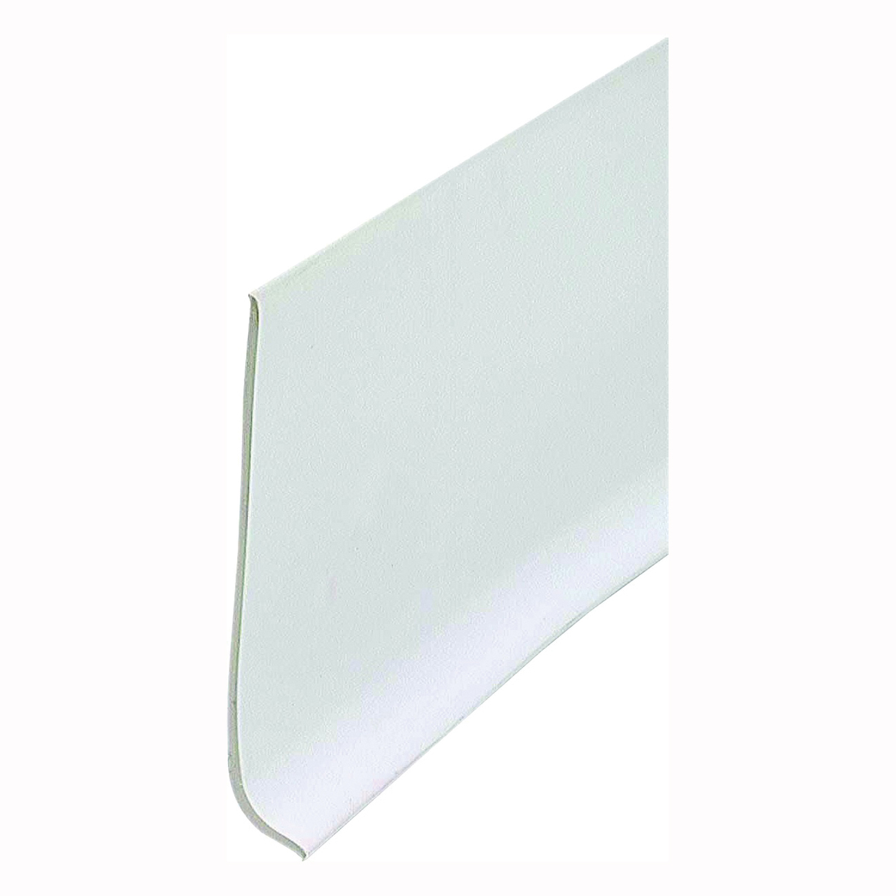 Picture of M-D 23944 Wall Base, 4 ft L, 4 in W, Vinyl, White