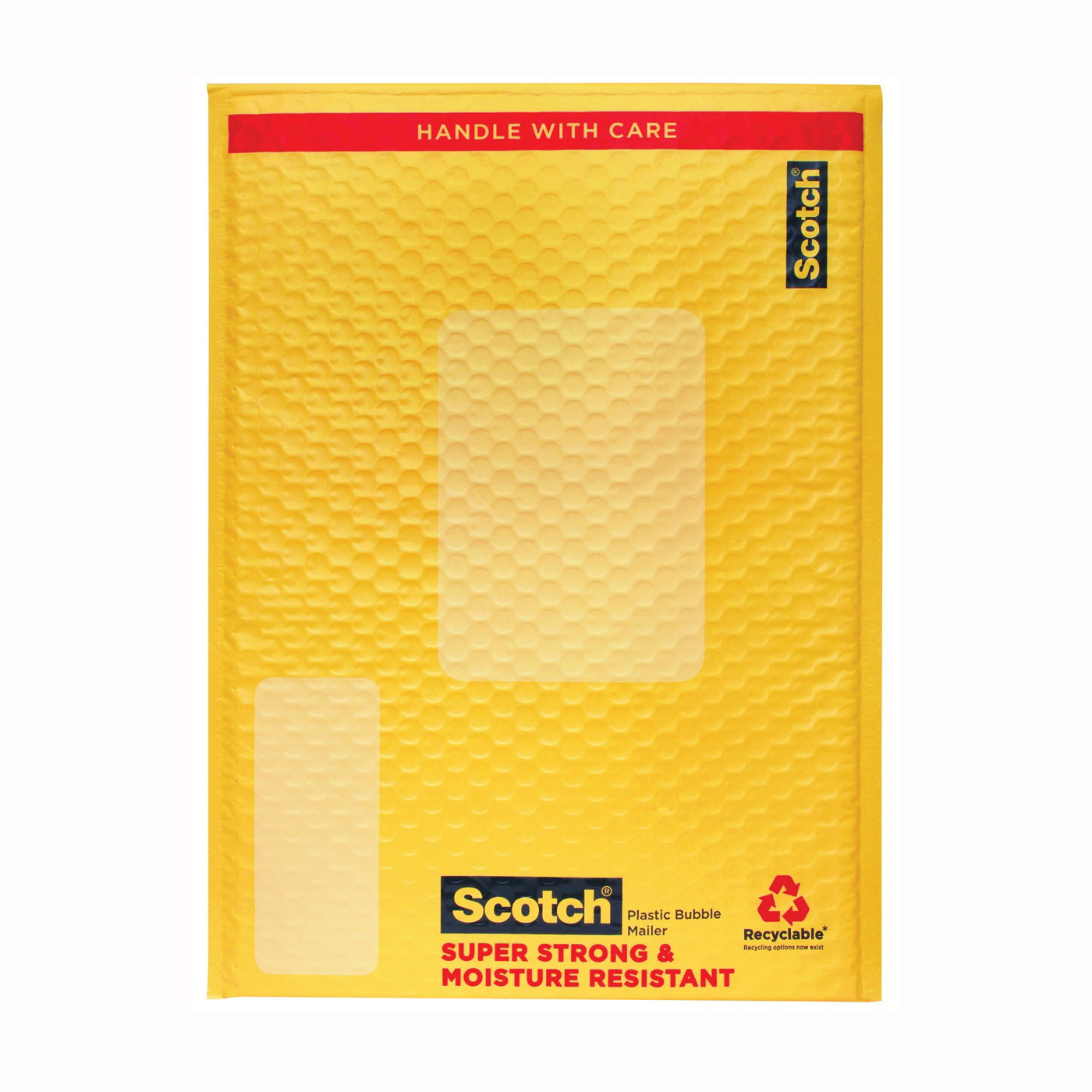 Picture of Scotch 8915 Smart Mailer, 10-1/2 x 15 in, Yellow, Self-Seal Closure