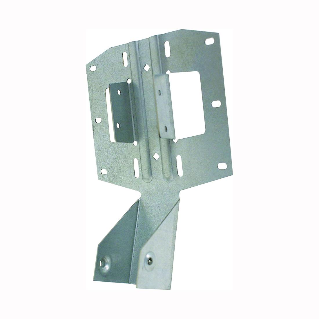 Picture of MiTek LSSH15-TZ Slope/Skew Hanger, 5-1/16 in H, 3 in D, 1-9/16 in (W1), 1-3/4 in (W2) W, Steel, G185 Galvanized
