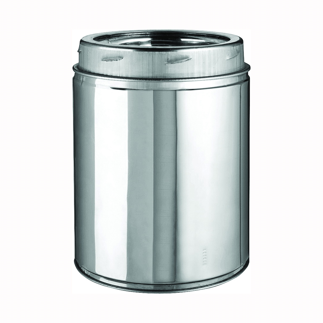 Picture of SELKIRK 208006 Chimney Pipe, 10 in OD, 6 in L, Stainless Steel