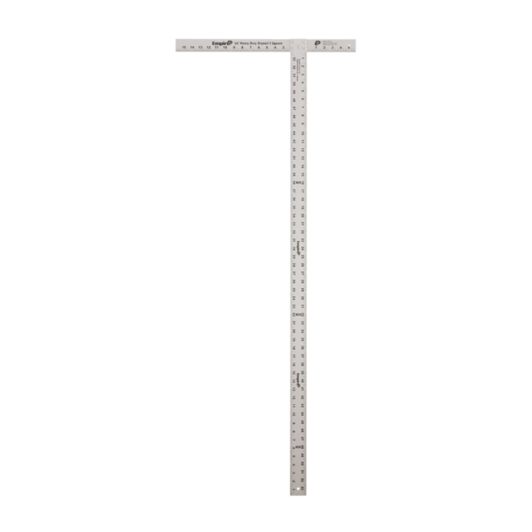 Picture of Empire 418-54 Heavy-Duty T-Square, 0 to 53-7/8 in, Aluminum