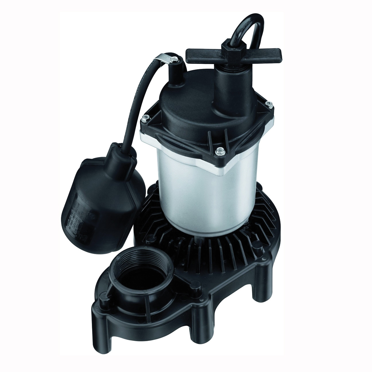 Picture of Sta-Rite Simer 2165 Sump Pump, 1-Phase, 4.1 A, 115 V, 0.5 hp, 1-1/2 in Outlet, 22 ft Max Head, 960 gph