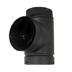 Picture of SELKIRK DSP7TE-1 Tee, 7 in, Stainless Steel, Black