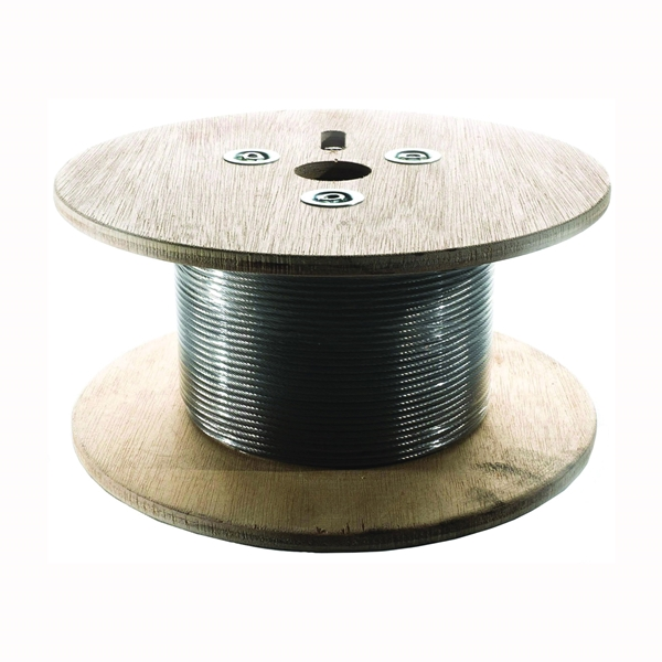 Picture of Ram Tail RT WR 3-250 Wire Rope, 3 mm Dia, 250 ft L, 316 Stainless Steel