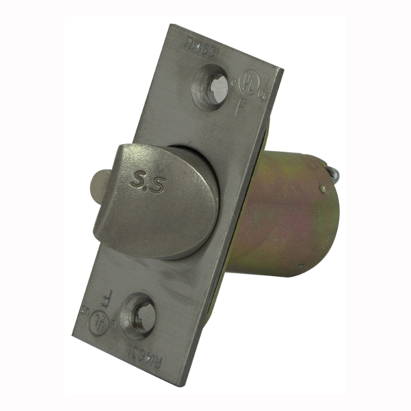 Picture of ProSource KC60B-L62V24-PS Mortise-In Door Latch, Metal/Stainless Steel