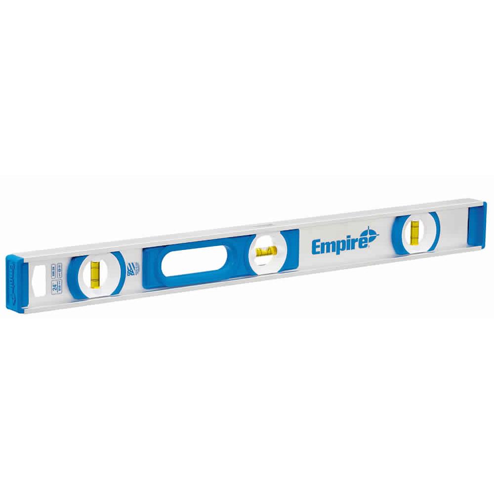 Picture of Empire e55.48 I-Beam Level, 48 in L, 3 -Vial, Non-Magnetic, Aluminum, Blue
