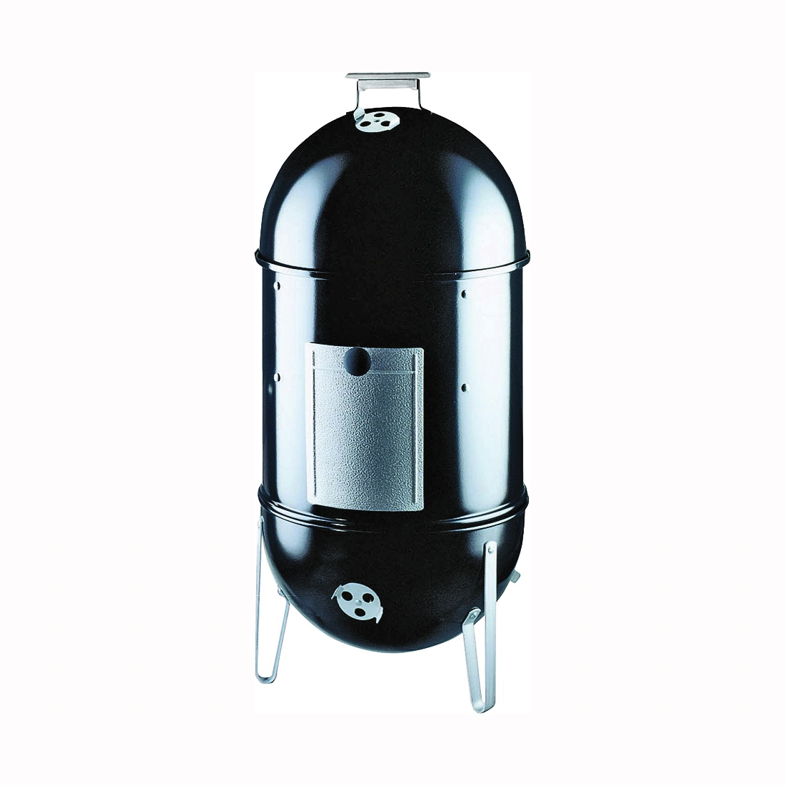 Picture of Weber Smokey Mountain Cooker 721001 Charcoal Smoker, Charcoal, Steel, Black