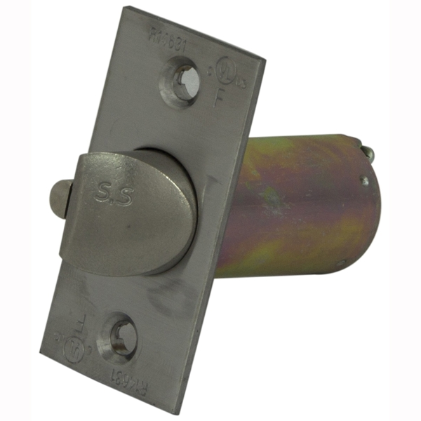 Picture of ProSource KC60B-L72V24-PS Mortise-In Door Latch, Metal/Stainless Steel