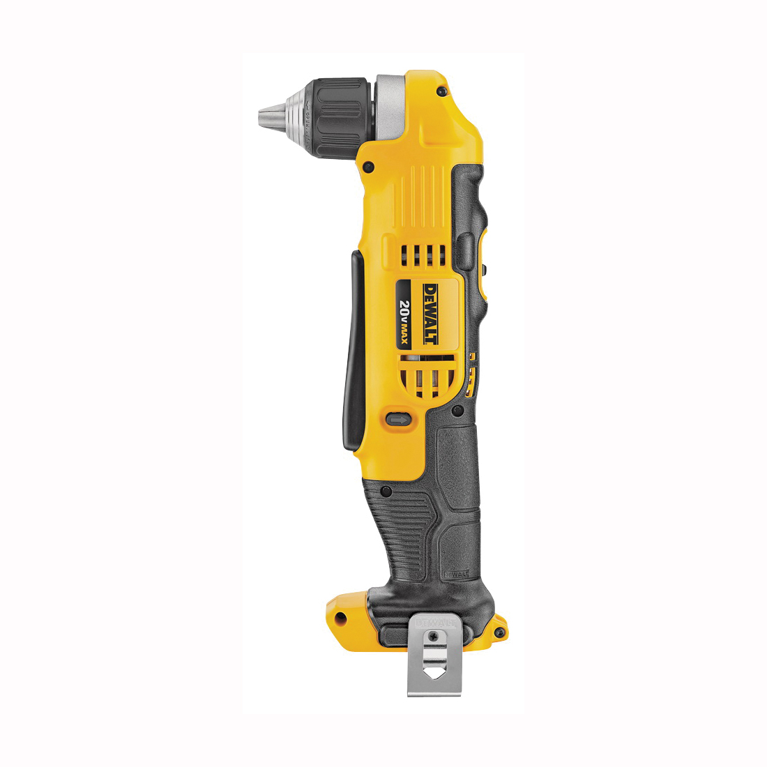 Picture of DeWALT DCD740B Drill/Driver, Bare Tool, 20 V Battery, 3/8 in Chuck, Keyless, Ratcheting Chuck, Battery Included: No
