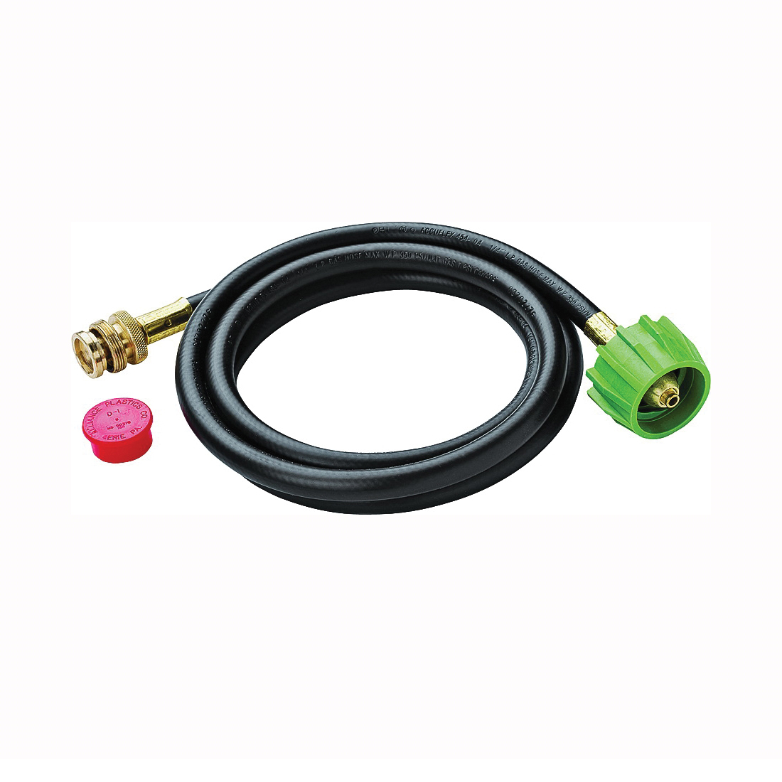 Picture of Weber 6501 Adapter Hose, Brass/Rubber/Stainless Steel, 72 in L