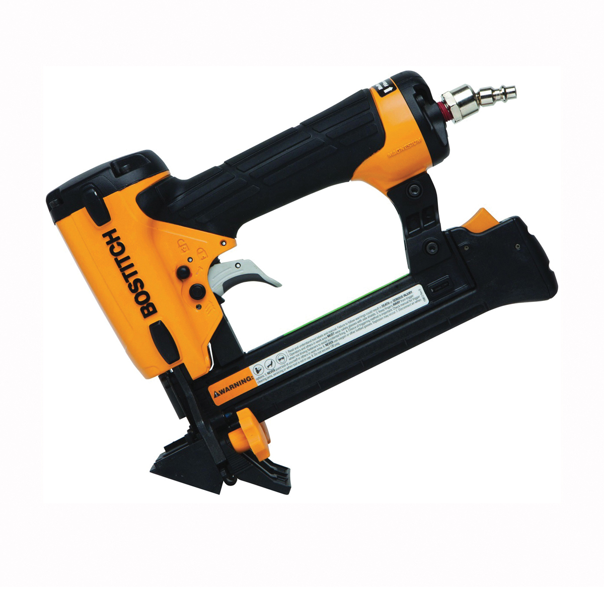 Picture of Bostitch LHF2025K Flooring Stapler, 1 in W Crown, 1 in L Leg, 100 Magazine