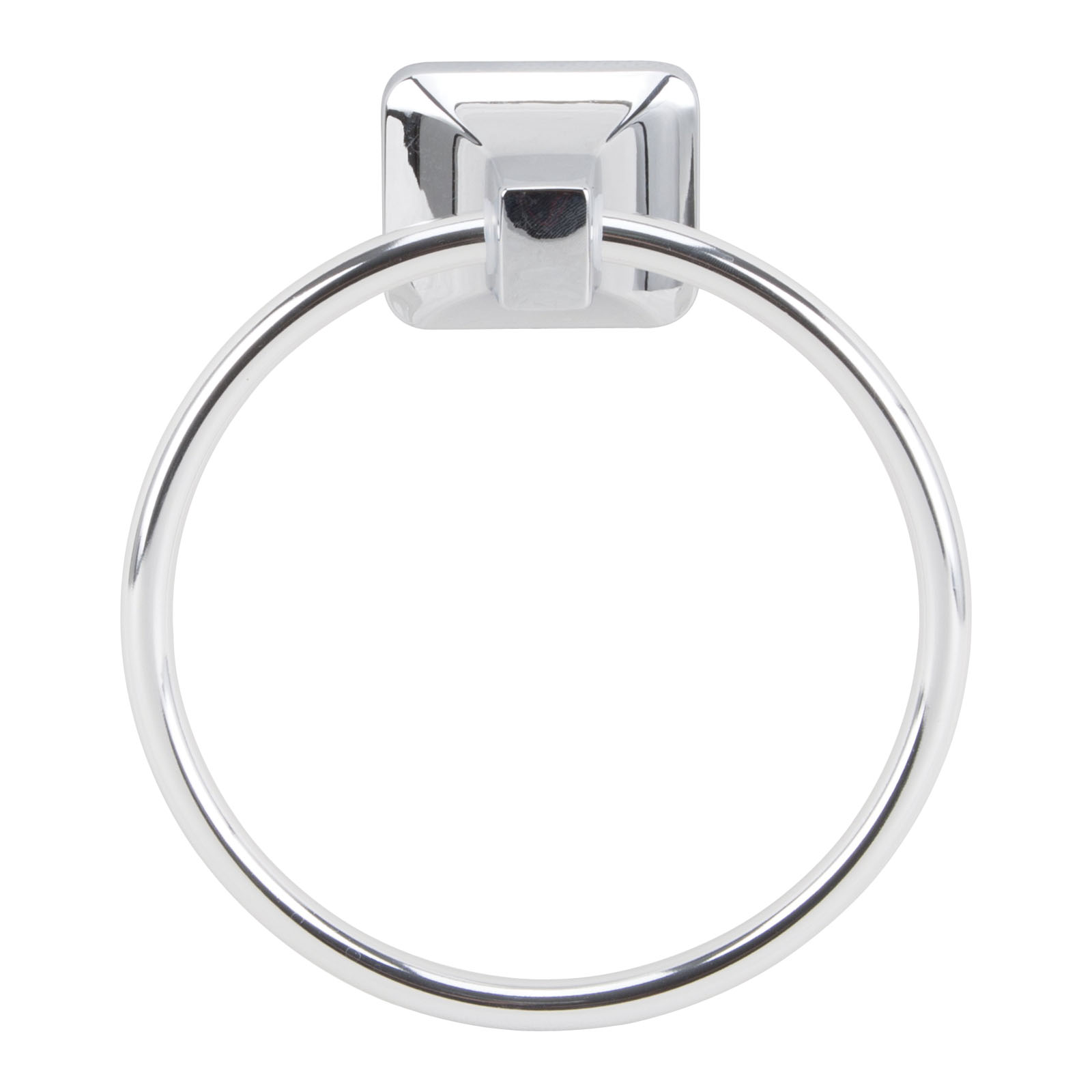 Picture of Boston Harbor CSC 8586-3L Towel Ring, Aluminum, Chrome, Screw Mounting