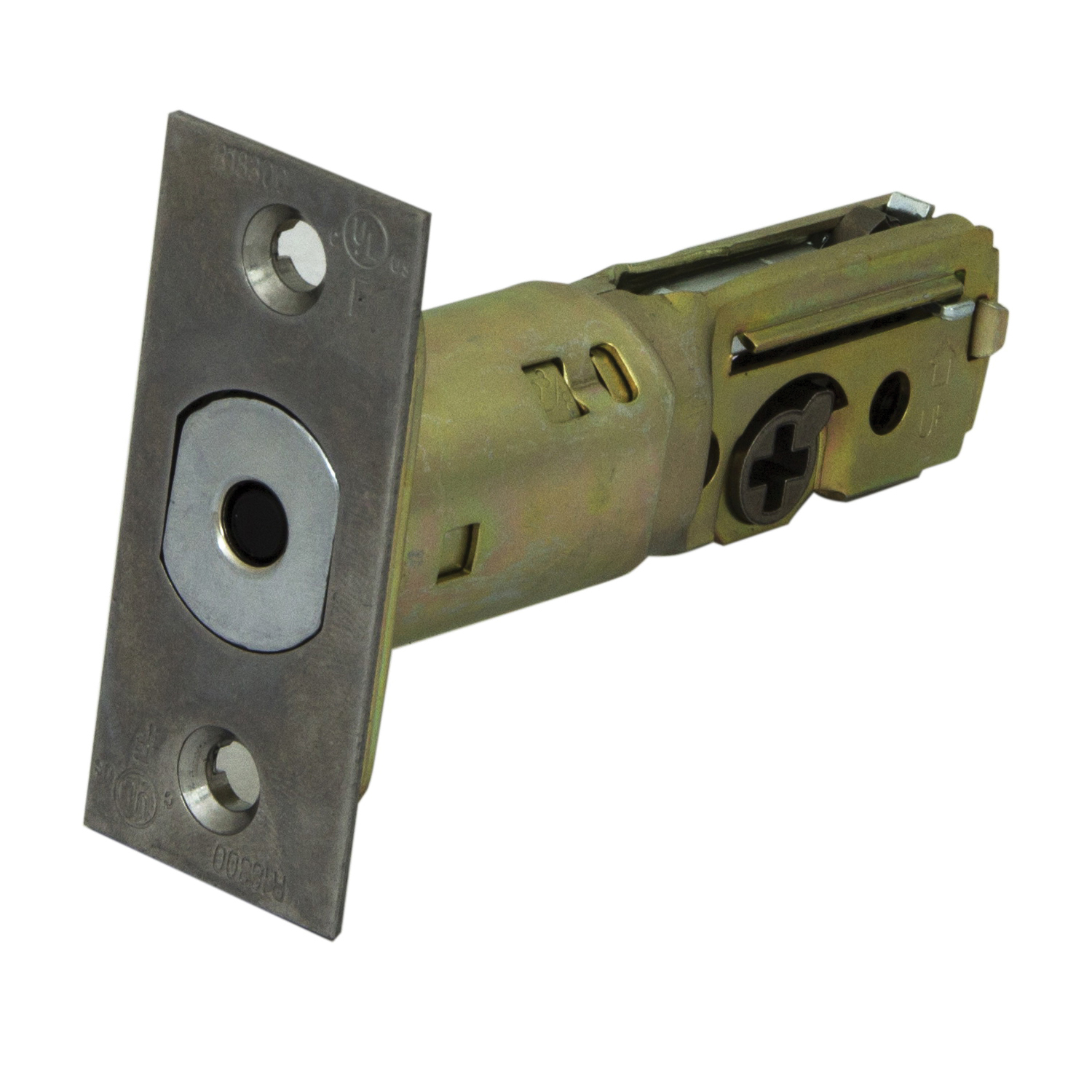 Picture of ProSource KD60B-U65V24-PS Mortise Latch, Stainless Steel