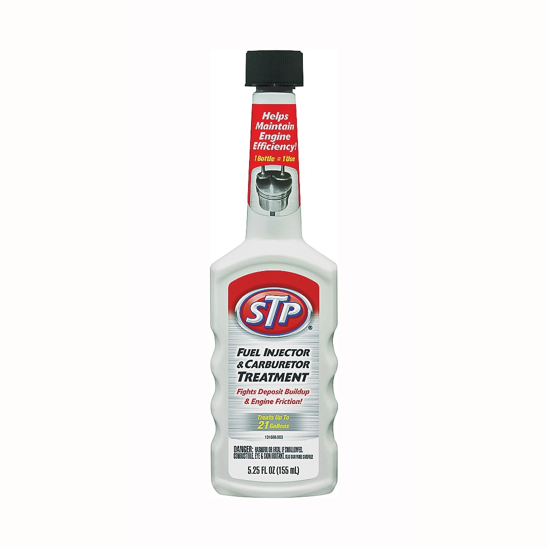 Picture of STP 78571 Fuel Injector Treatment Straw, 5.25 oz Package, Bottle