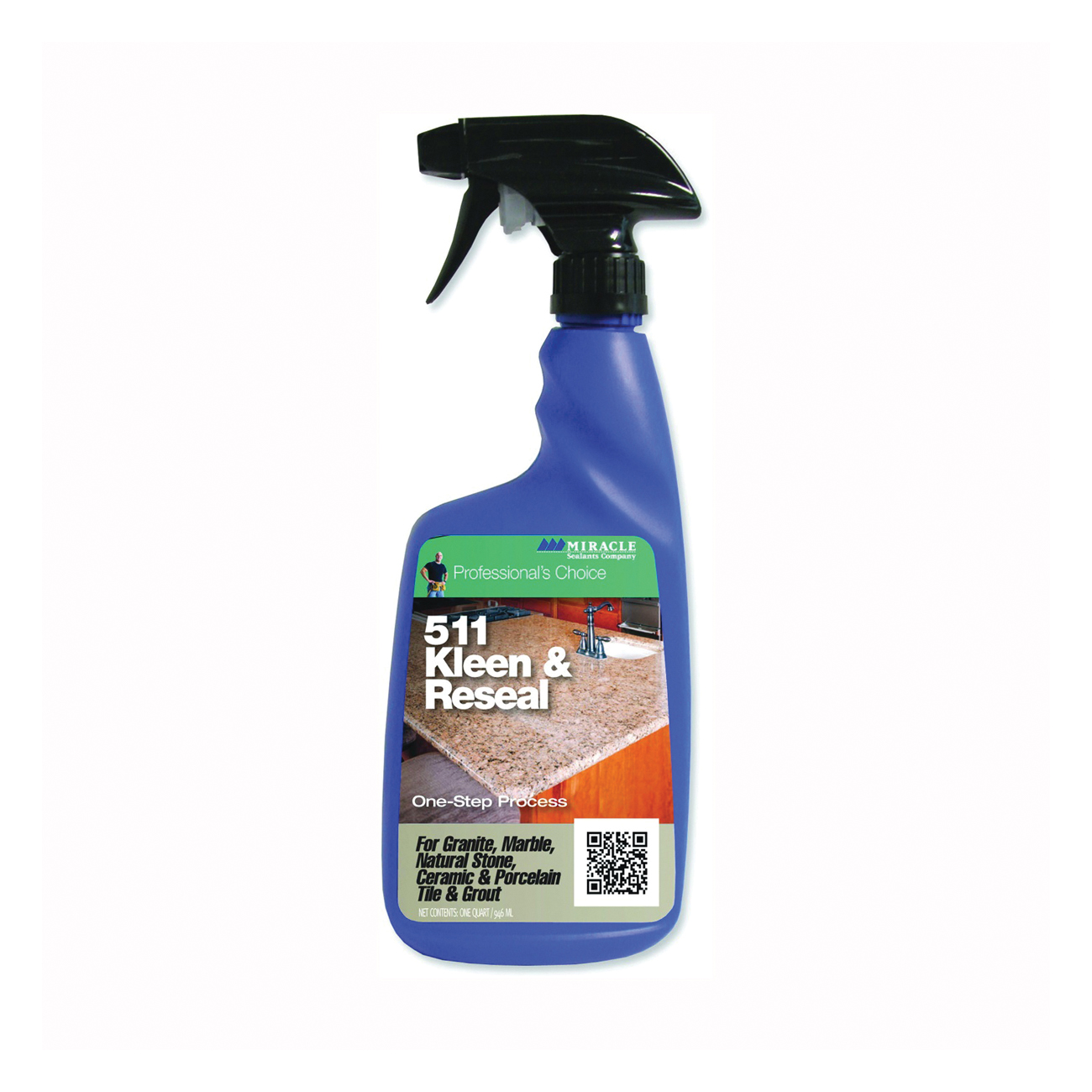 Picture of MIRACLE SEALANTS KL-RE-32OZ-6/1 Kleen and Reseal, 32 oz Package, Floral, Purple