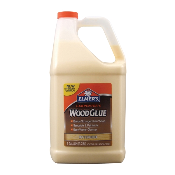 Picture of Elmers Carpenter's E7050 Wood Glue, Yellow, 1 gal Package, Bottle