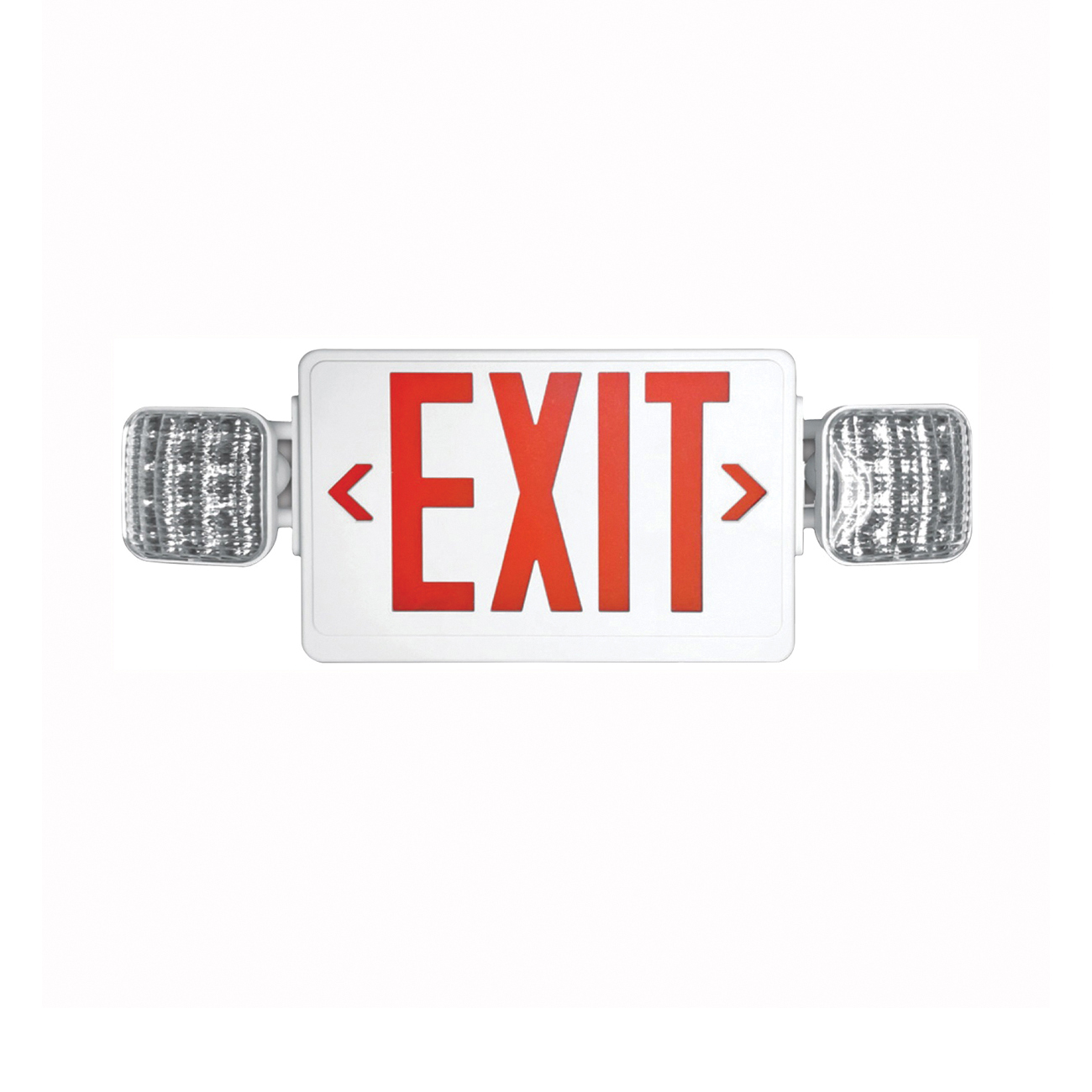 Picture of HOWARD LIGHTING HL03143RW Exit Light, 10 in OAW, 24 in OAH, 120/277 VAC, Thermoplastic Fixture, White