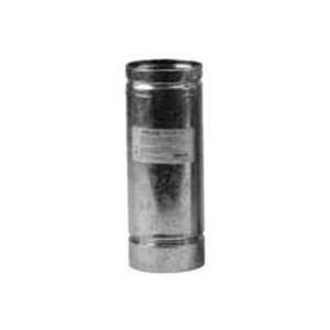 Picture of SELKIRK 3VP-6 Vent Pipe, 3 in OD, 6 in L, Stainless Steel, Galvanized