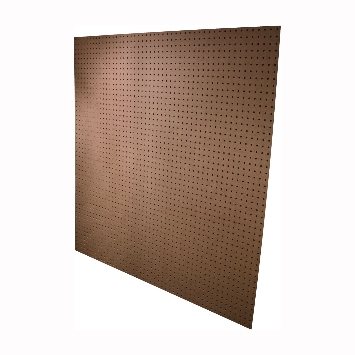 Picture of ALEXANDRIA Moulding PG002-6H048C Standard Perforated Hardboard, 4 ft OAW, 4 ft OAH, Plywood