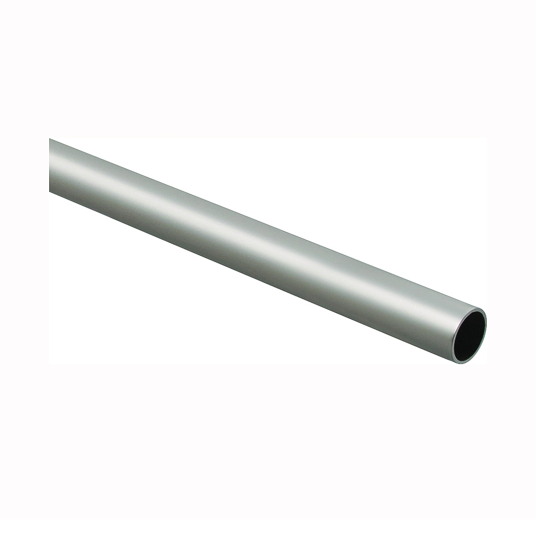 Picture of National Hardware BB8604 Series S822-101 Closet Rod, 1-5/16 in Dia, 8 ft L, Steel, Satin Nickel