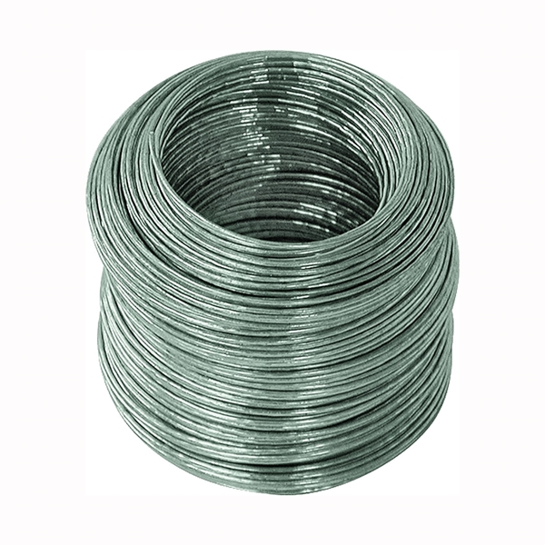 Picture of HILLMAN 50134 Utility Wire, 175 ft L, 20 Gauge, Galvanized Steel