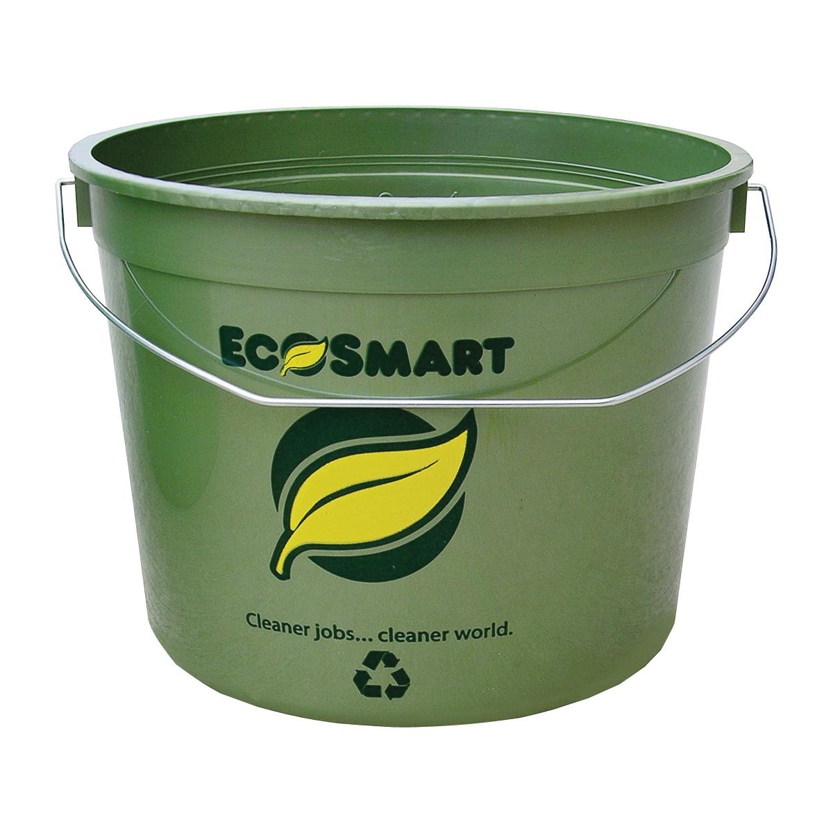 Picture of ENCORE Plastics EcoSmart 300786 Paint Pail, 5 qt Capacity, HDPE, Green