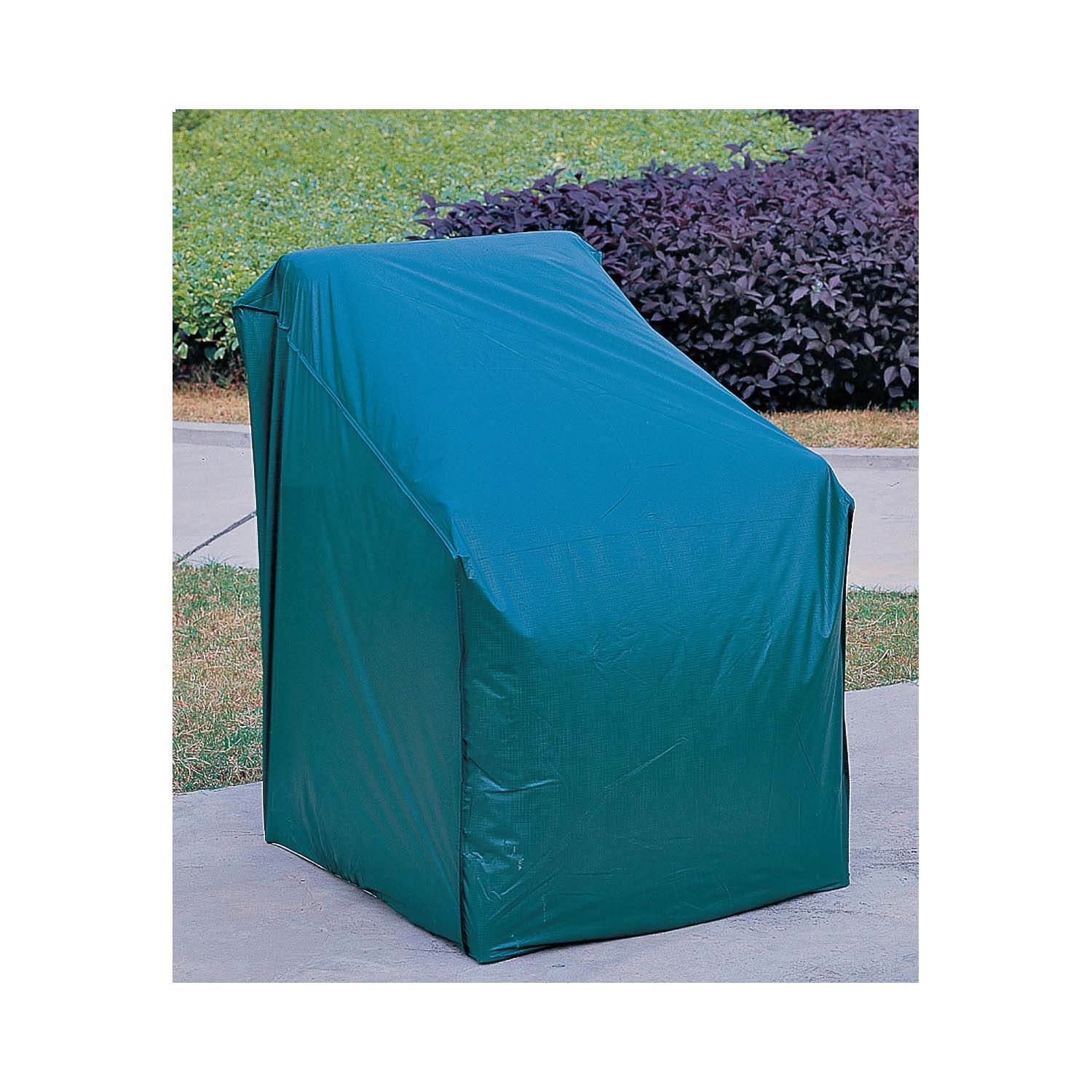 Picture of Seasonal Trends CVRA-CH-D Chair Cover, 33 in L, 28 in W, 33 in H, Vinyl, Green