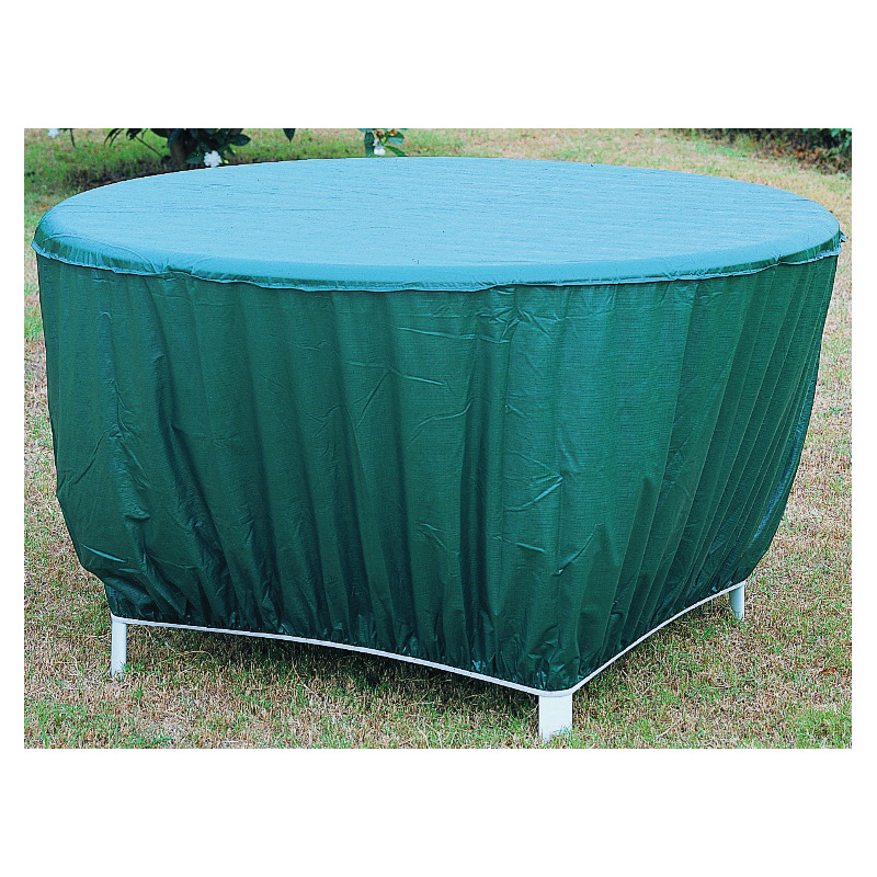 Picture of Seasonal Trends CVRA-RT-D Table Cover, 53 in L, 53 in W, 24 in H, Vinyl, Green