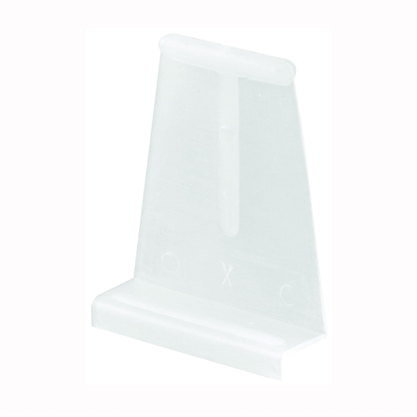 Picture of Make-2-Fit PL 7756 Spline Channel Pull Tab, Plastic, White, Raw, 6, Carded