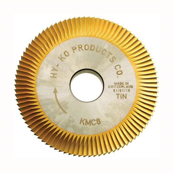 Picture of HY-KO Promatic KMC8 Key Machine Cutter Blade, HSS, For: Taylor KD1, KD5, KD8, KD9 Key Machines