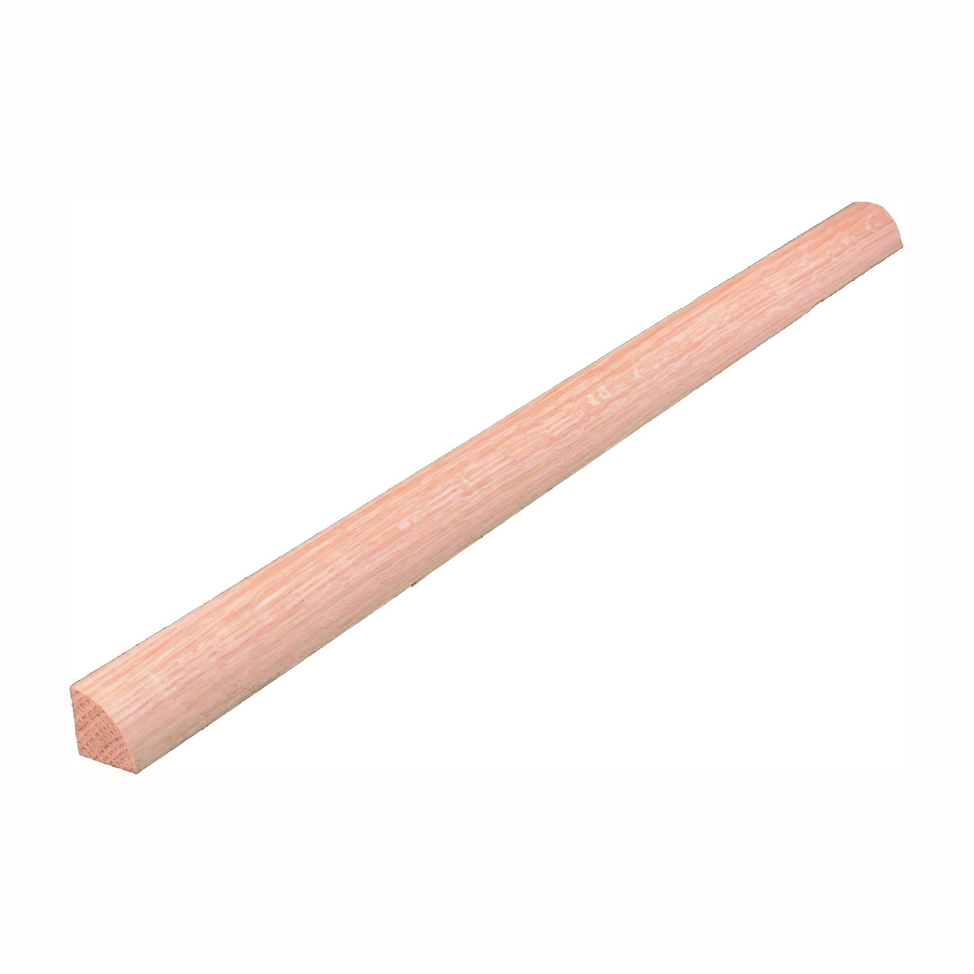 Picture of ALEXANDRIA Moulding 0W105-40096C1 Quarter-Round Molding, 96 in L, 3/4 in W, Red Oak