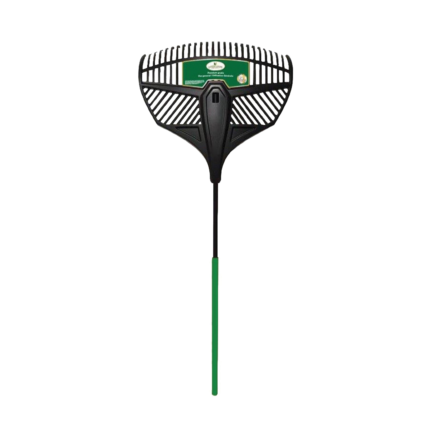 Picture of Landscapers Select 34867 Leaf Rake, Poly Tine, Steel Handle, 36 in L Handle