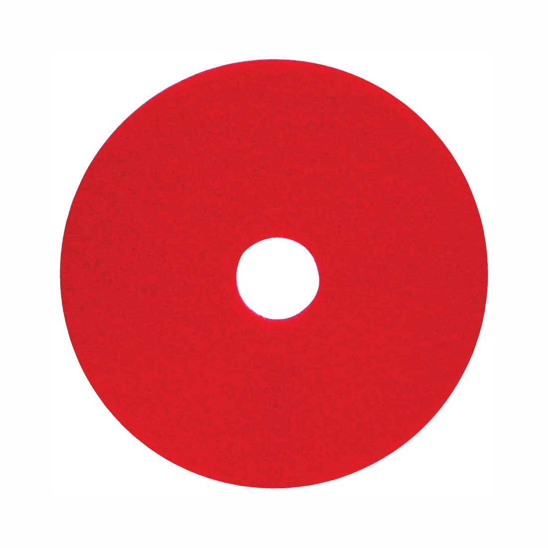 Picture of NORTH AMERICAN PAPER 420414 Light Buffing Pad, Red