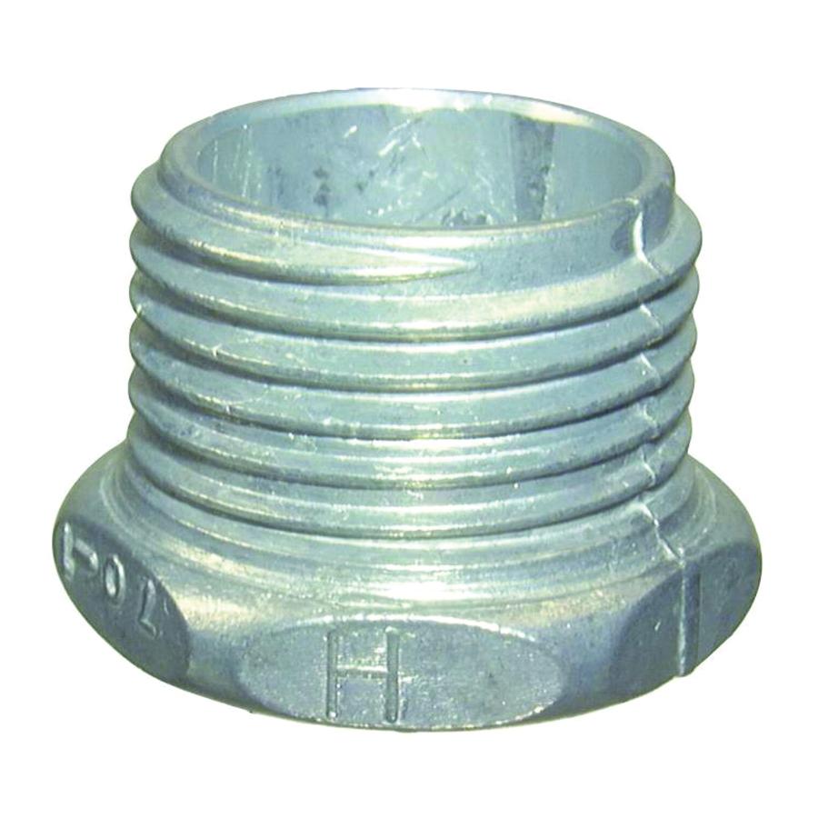Picture of Halex 07020 Conduit Chase Nipple, Zinc