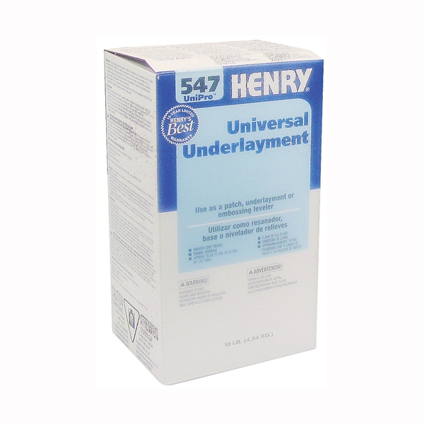 Picture of HENRY 547 UniPro Series 12159 Underlayment, Gray, 10 lb Package, Box