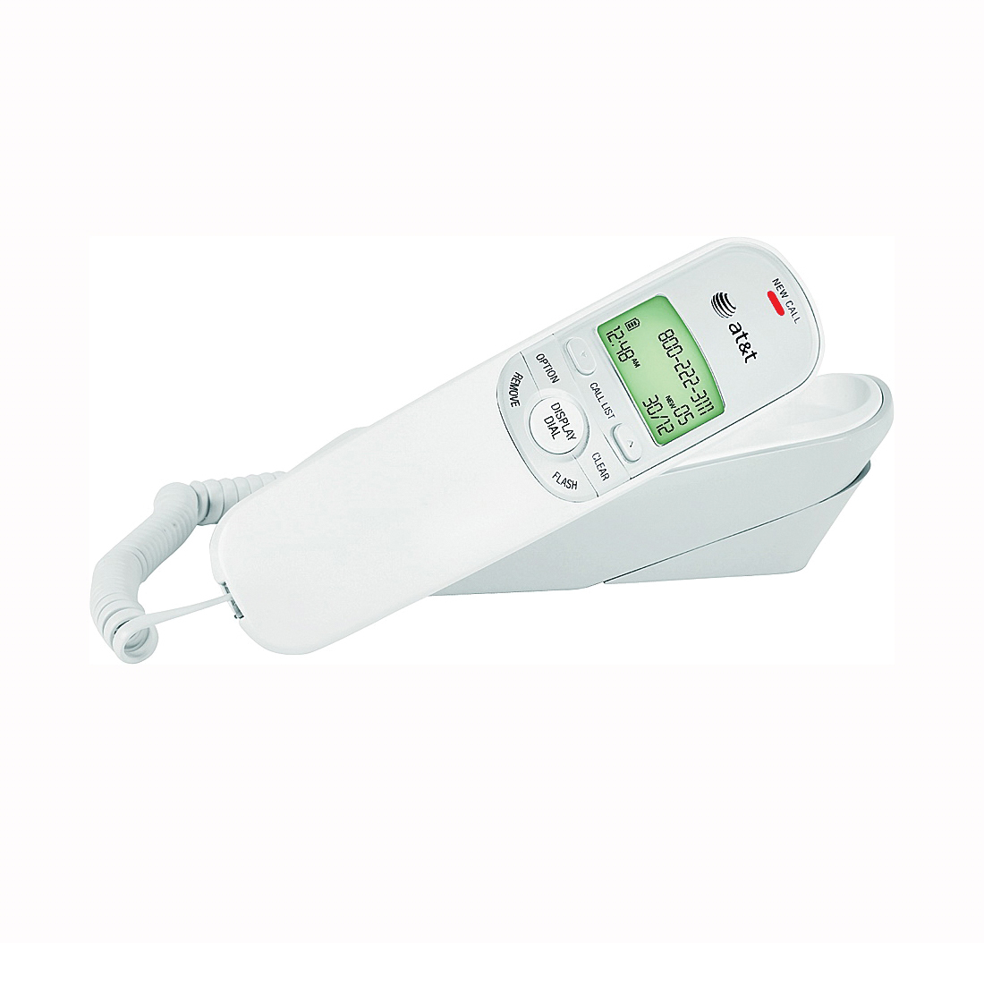 Picture of Vtech TR1909 Corded Telephone, 50 Name Input, White
