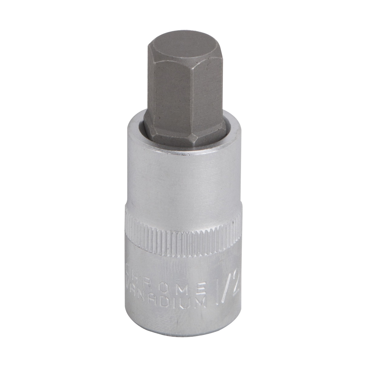 Picture of Vulcan 3506012113 Hex Bit Socket, 1/2 in Tip, 1/2 in Drive, Chrome Vanadium