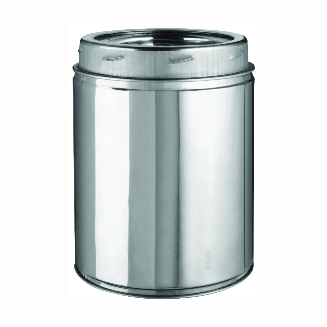 Picture of SELKIRK 206009 Chimney Pipe, 8 in OD, 9 in L, Stainless Steel