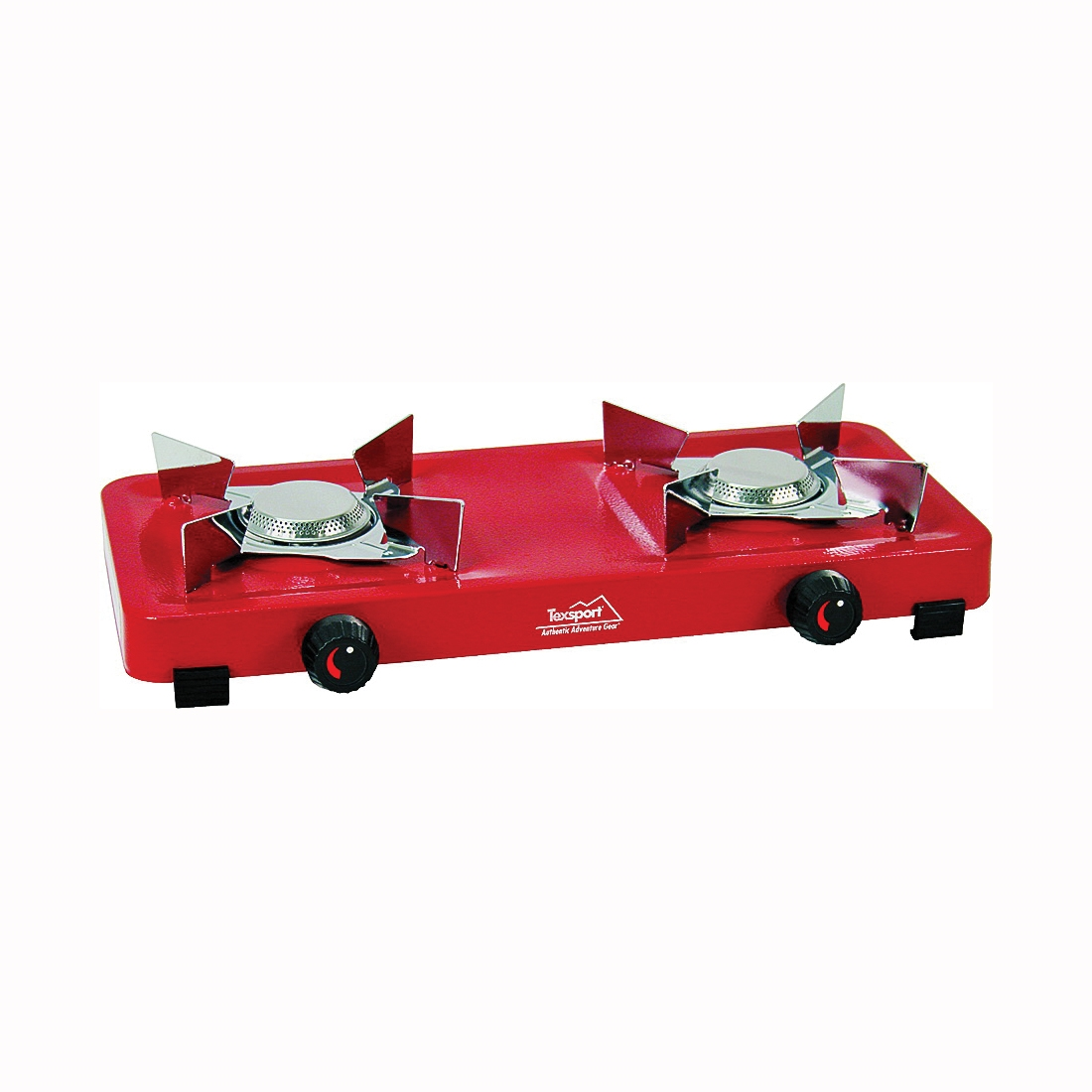 Picture of Texsport 14205 Two Burner Stove, 5000 Btu, Steel