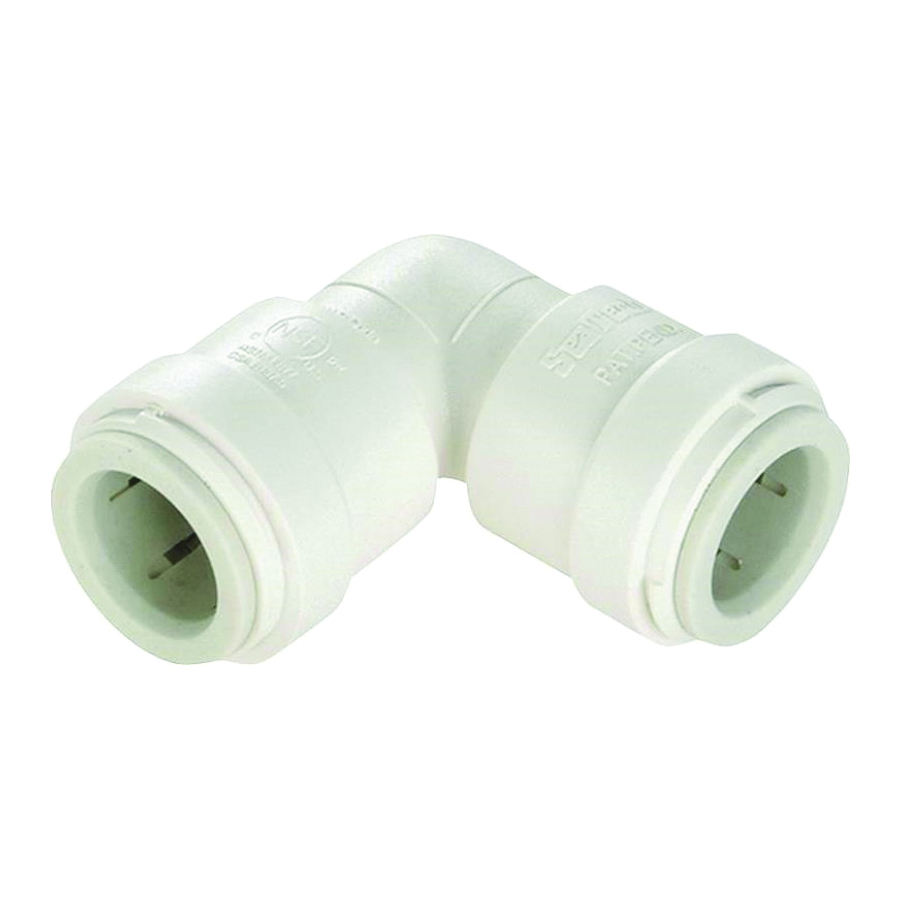 Picture of Watts 3517-18/P-1020 Union Elbow, 1 in, 1 in, 90 deg, Off-White